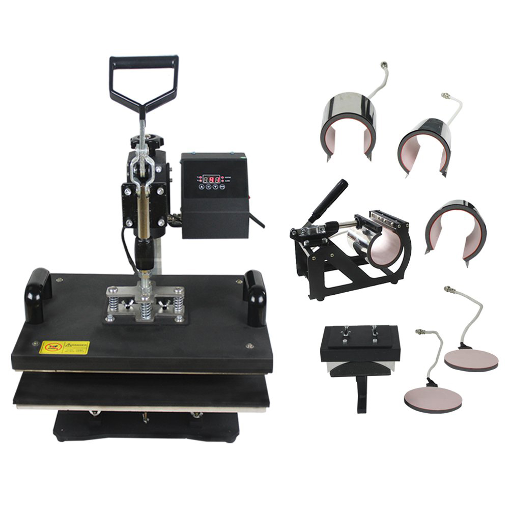 8 IN 1 Combo T shirt Heat Press Machine