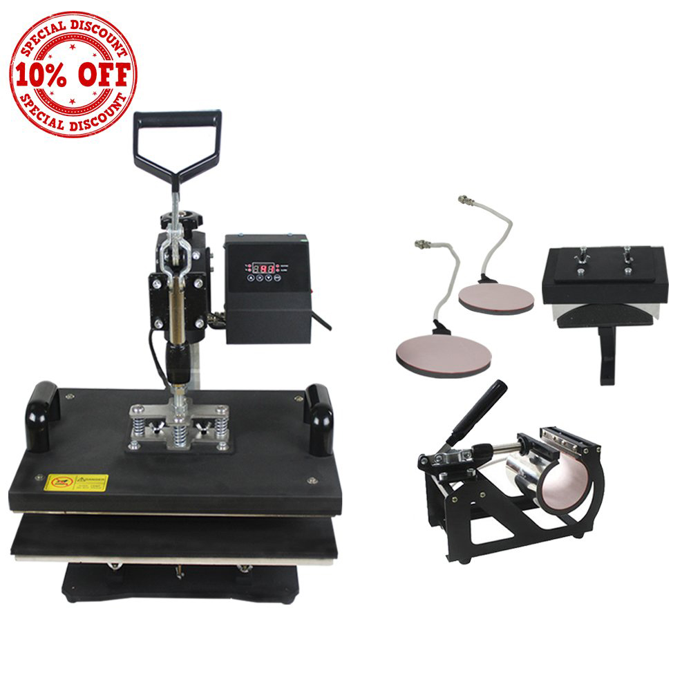 5IN1 Multifunction Heat Press Machine
