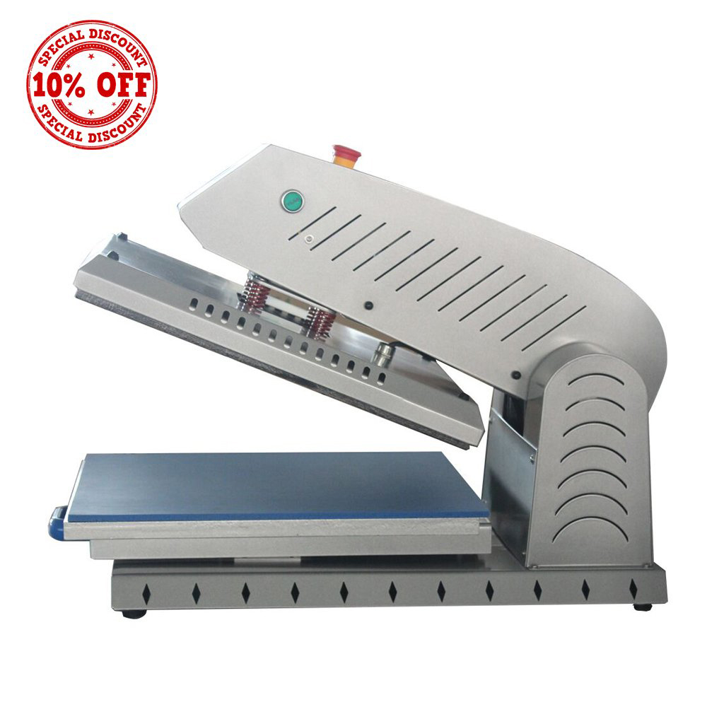 Electric Automatic No Need Air Compressor Heat Press Printin
