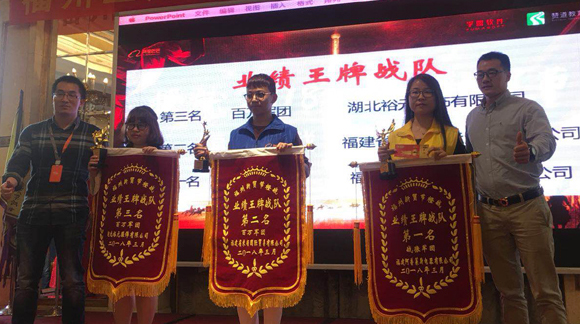 Auplex Sales Teams Win Alibaba Championship