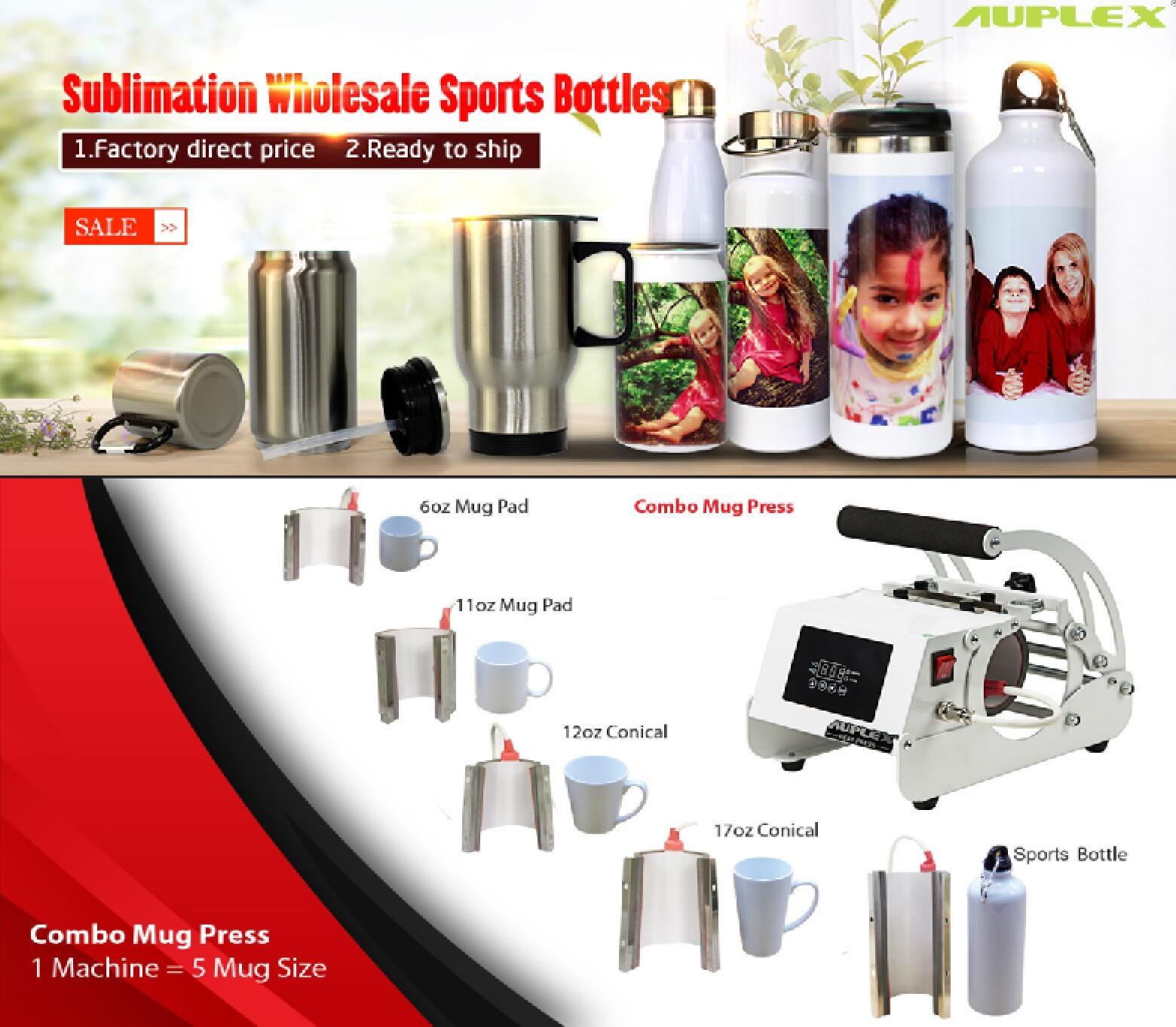 Portable Mug Press for Mugs and Sports Bottle_AUPLEX-Heat